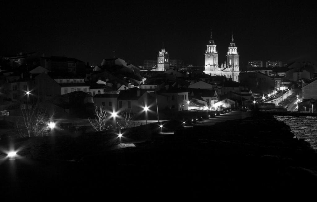 catedral dende a muralla